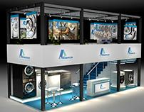 Alliance Exhibition design 2015 - Dubai UAE