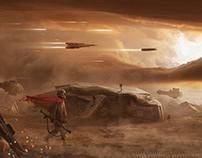 Star Wars - fan art challenge