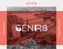 Genr8 NYC Conference Print Schedule