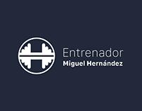 Logo realizado para el Entrenador Miguel Hernández