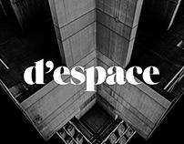 d'espace Brand Identity