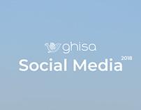 Ghisa Social Media