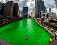 The Greening of the Chicago River