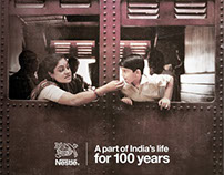Nestle-A part of India's life for 100 years