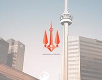 Logo & stuff for Ukrainians in Toronto community