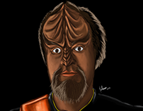Myself in klingon skin