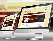 San Carlos College 3D Website Mockup