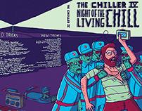 The Chiller IV Album Illustration & Design