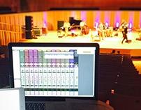 Grabación en Vivo en Damián Rovner en La Usina del Arte