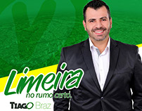 CAMPANHA POLÍTICA - Tiago Braz + Logo