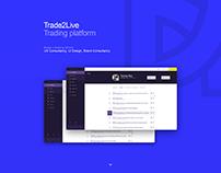 Trade2Live – Trading platform