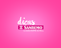 Canal Youtube: Dicas Sanremo / Identidade Visual