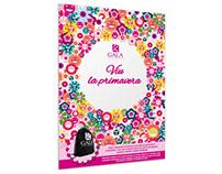 Campaña de Primavera para Gala perfumeries