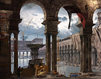 Ancient Rome Competition. HUMSTER 3D.