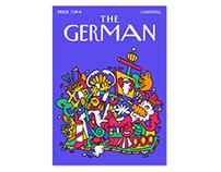 THE GERMAN (Coverdesign)