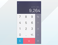 Daily UI - 004 - Calculator