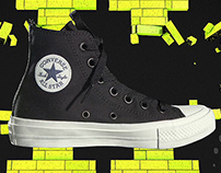 Converse Chuck Taylor II Launch campaign