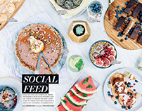 Nourish Magazine - Social Feed Dec 2015