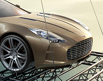 Aston Martin One-77 CGI