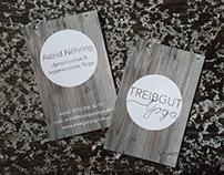 "Business card ""Treibgut Yoga"""