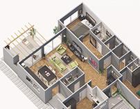 Visualización Arquitectura Casas Pilar