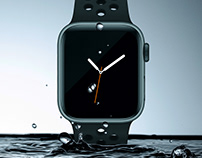 Apple Watch Magazine Cover