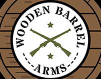 Wooden Barrel Arms