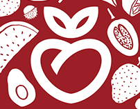 Healthy Living Market identity