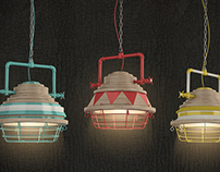 Fresh Industrial Pendant Light Design