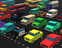 Low Poly Vehicles - Pack
