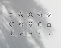 Daily UI #055 — Icon Set