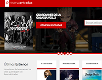 ReservaEntradas: Cinema Ticketing Web Store