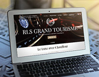 Site Internet & Logo - RLS Grand Tourisme