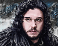 John Snow - Digital painting
