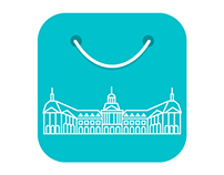 Bordeaux Shopping iOS  App Icon