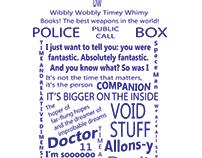 Doctor Who Typography TARDIS