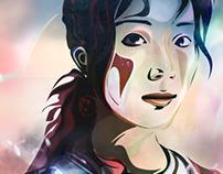 'Ayaka Hirahara' (portrait)
