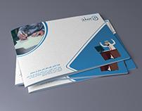 A5 Company Profile Design