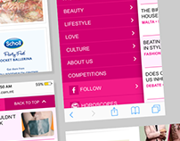 Fashion & Lifestyle webportal