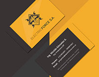 Eletric Force Business Cards
