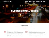 Website and Hotsite for Grupo Viceri
