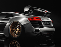 Audi R8 Wide Body - CGI & Retouching