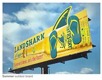 Land Shark Lager Seasonal OOH Concepts
