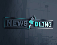 Logo design for News Bling