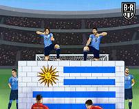 Bleacher Report | Uruguay won