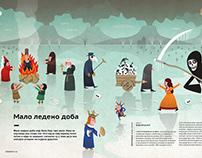 "Illustrations for the Serbian magazine ""Elementi"" #22"