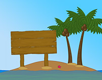 Island Cartoon Educational