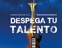 Afiche Concurso despega tu talento
