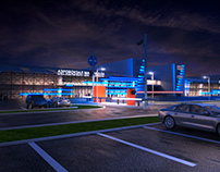 Lighting project for airport