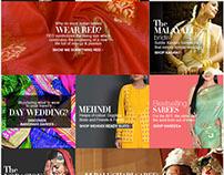 Promotional Landing page Design
